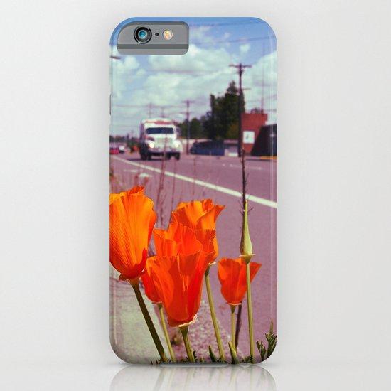 Roadside flowers iPhone & iPod Case