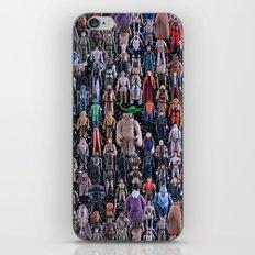 Star Wars Vintage Figures Collage iPhone & iPod Skin