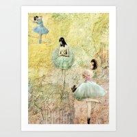 Petit Pas (Little Steps) Art Print