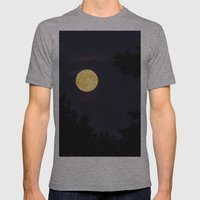 Moon Light Mens Fitted Tee Athletic Grey SMALL