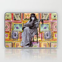 Guitarist in Time Laptop & iPad Skin