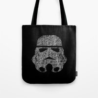 Lines of Trooper Tote Bag