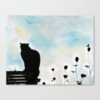 Blue Days Canvas Print