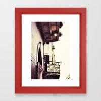 Absinthe House Framed Art Print
