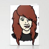Hey Stella Vee (Logo) Stationery Cards