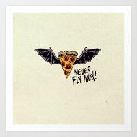 Never Fly Away Art Print