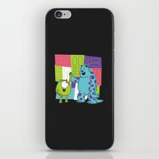 Monster Time iPhone & iPod Skin