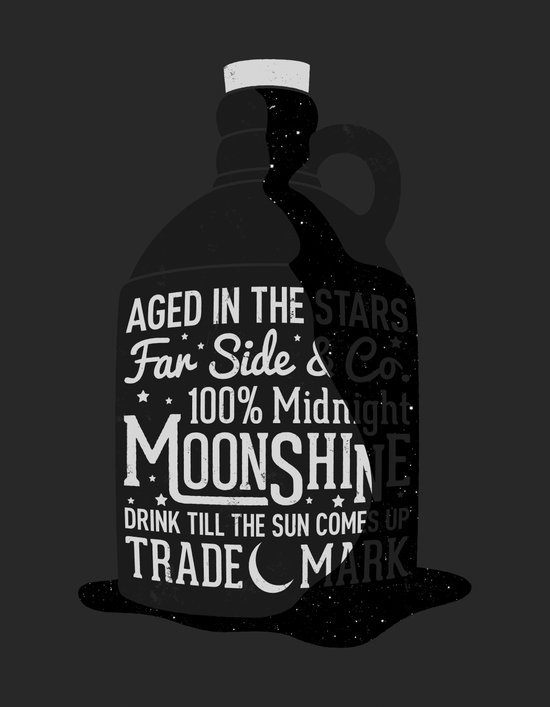 Midnight Moonshine Art Print