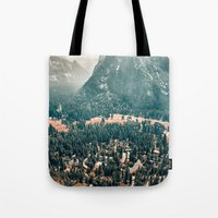 Yosemite Valley - Fall C… Tote Bag
