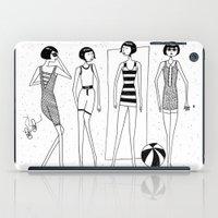 The beach-goers iPad Case