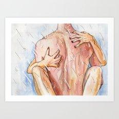 Shower Sex Art Print