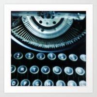Typewriter Series, Image 1 Art Print