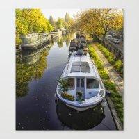 Little Venice London Canvas Print