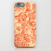 iPhone & iPod Case featuring repeat by Hanna Ruusulampi