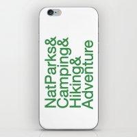 National Parks & Hiking … iPhone & iPod Skin