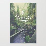 Mountain Of Solitude - T… Canvas Print