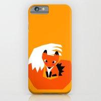 iPhone & iPod Case featuring Red Fox by parisian samurai studio