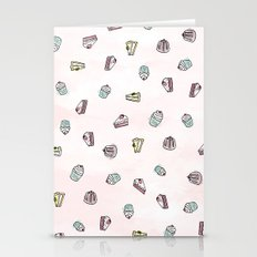 Desserts Rain Stationery Cards