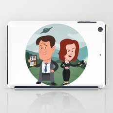 Mulder and Scully iPad Case