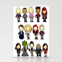 Doctors Companions and Friends V.2 Stationery Cards