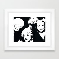 Thank you for being a pal Framed Art Print