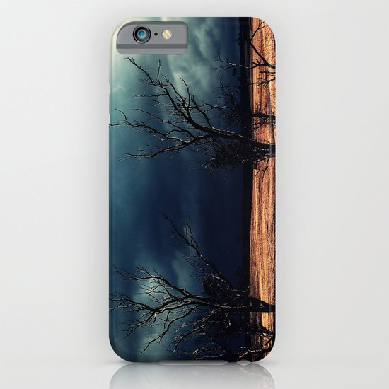 The relief of an Aussie drover iPhone & iPod Case