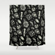Shower Curtain featuring Magical Mystical  by LOll3