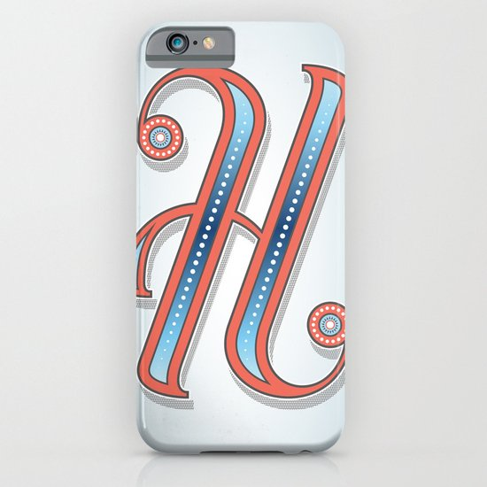 Letter H iPhone & iPod Case
