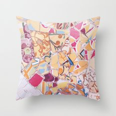 Tiling with pattern 4 Throw Pillow