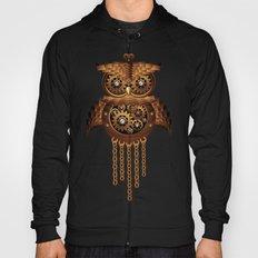 Steampunk Owl Vintage Style Hoody