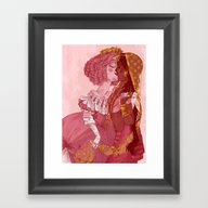 Be My Valentine - Girls Framed Art Print