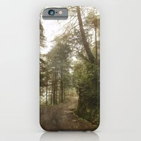 A foggy road in the forest, Dharamsala, India iPhone 6 Slim Case