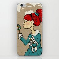 candy monster iPhone & iPod Skin