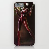iPhone & iPod Case featuring Harley Quinn  by Andy Fairhurst Art