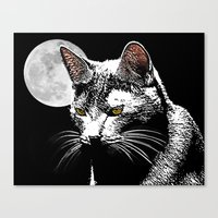 Nocternal Emission Canvas Print