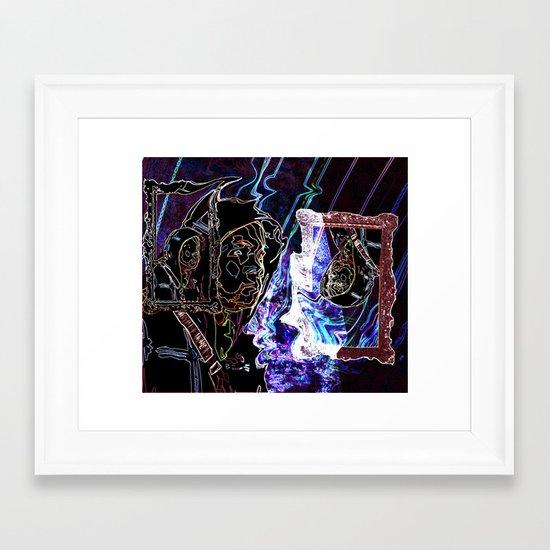 STREAMS OF DREAMS Framed Art Print