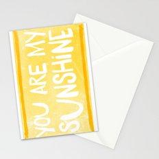 My Sunshine Love Stationery Cards
