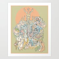 sherbet Art Print
