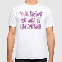 A PERSONAL MOTTO Mens Fitted Tee Ash Grey SMALL