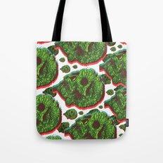 Plant skull  Tote Bag