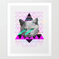 pastel Art Prints featuring Pastel  by Kris Tate