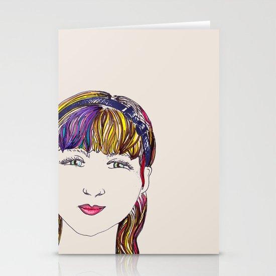 Mandy Stationery Card