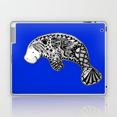 Blue Manatee Laptop & iPad Skin