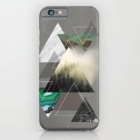 iPhone Cases featuring Triangles Symphony by cafelab