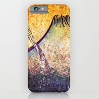 iPhone & iPod Case featuring good morning  Mountain by seb mcnulty