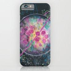 Portrait of an imaginary planet iPhone 6 Slim Case