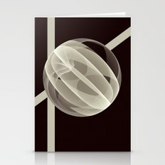 Modern Magic 3D Sphere Stationery Cards