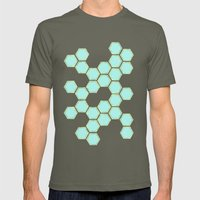 Hexagold Mens Fitted Tee Lieutenant SMALL