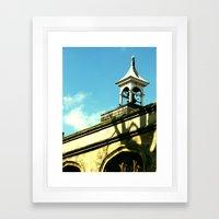 Quaint Village Framed Art Print