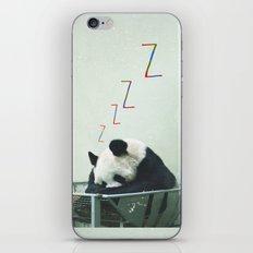 Sleepy Panda iPhone & iPod Skin